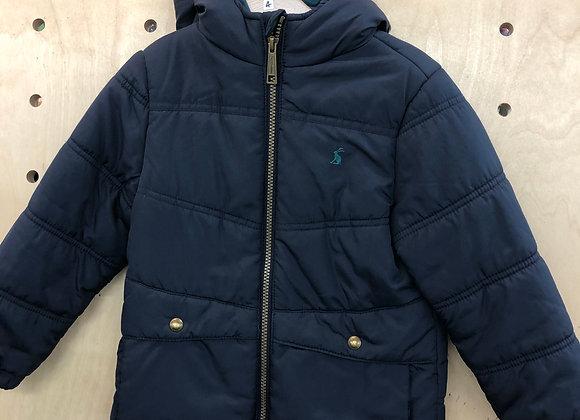 Jacket - Navy padded - Age 4
