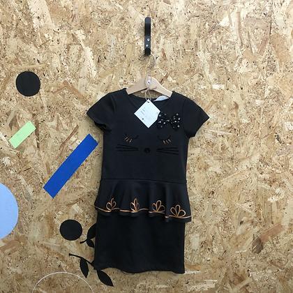 Dress - Black cat - Age 5