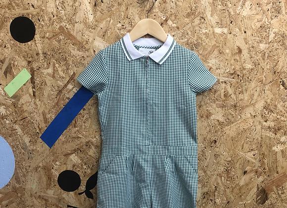 Summer Dress - Green with zip