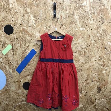 Dress -Corduroy - Age 6