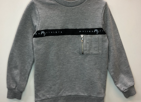 Jumper - Grey jersey -  Age 5