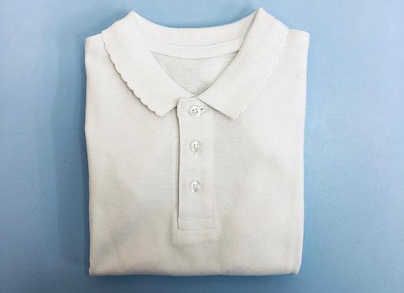 Poloshirt - Uniform - Scalloped collar