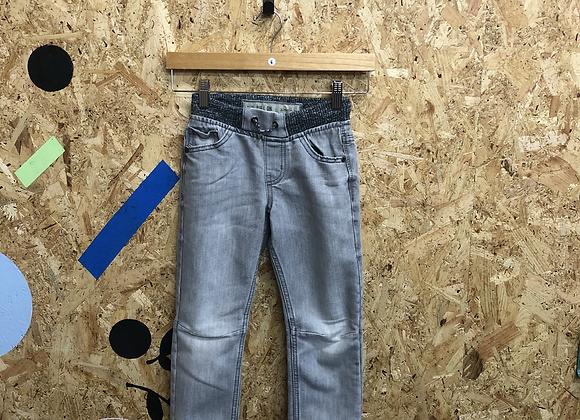 Grey Denim Jeans with Elasticated Waistband Age 4