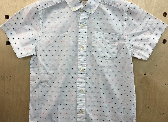 Shirt - White Polkadot - Age 6