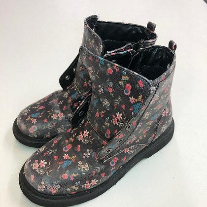 Boots - Floral - Shoe size 13 (jr)