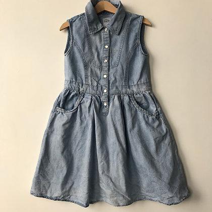 Dress - Denim Style - Age 7