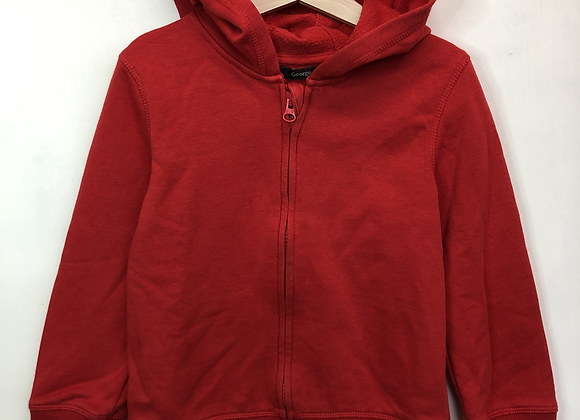 Hoody - Red - Age 4