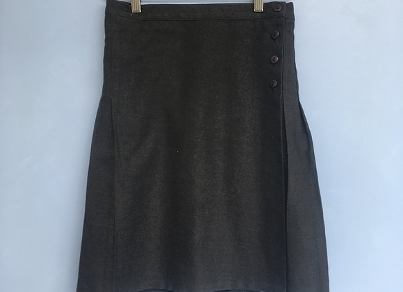 Skirt - Grey with pleats (John Lewis)