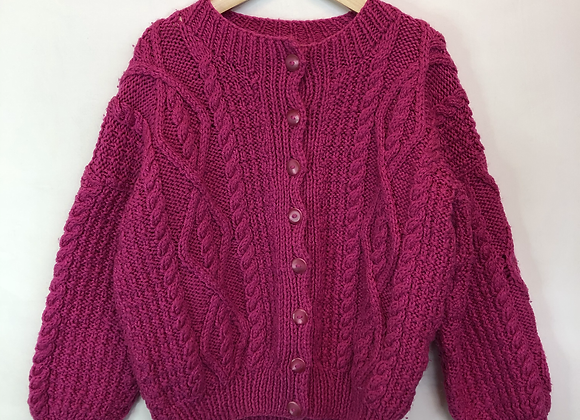 Cardigan - Thick Knit - Age 7