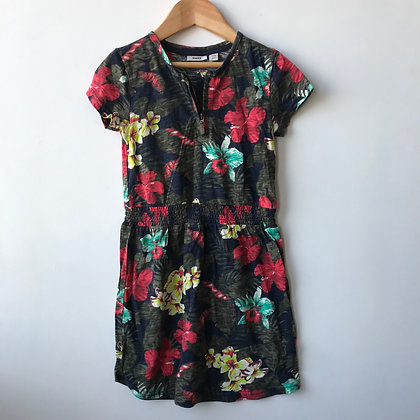 Dress - Floral Pattern - Age 6