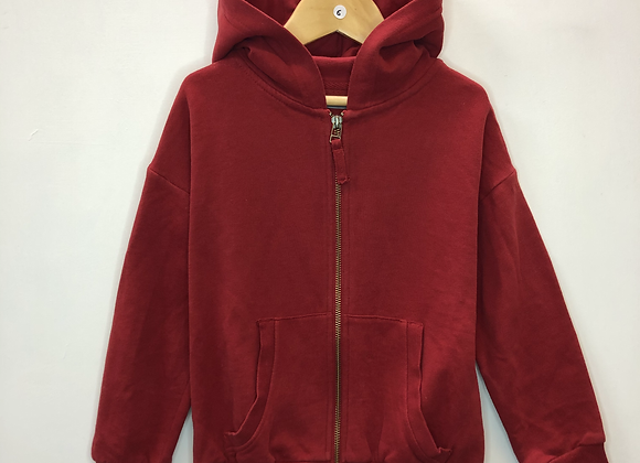 Hoody - Red - Age 6