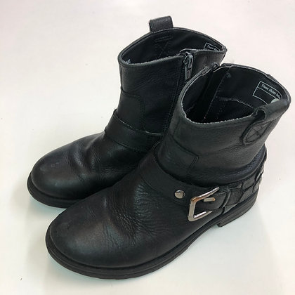 Boots - Black with buckle - Shoe size 1