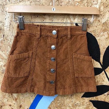 Skirt - Corduroy - Age 5