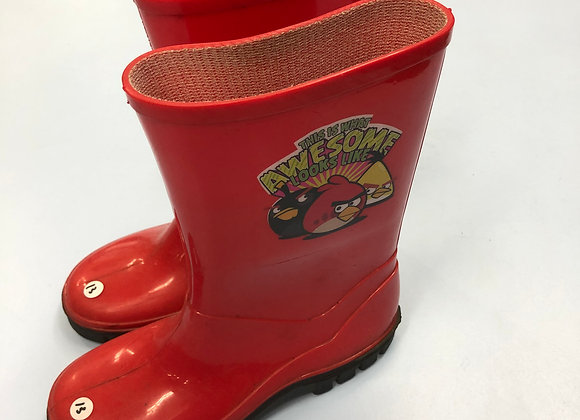 Wellies - Angry Birds - Shoe size 13 (jr)