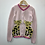Thumbnail: Cardigan - Pink with leopards - Age 6