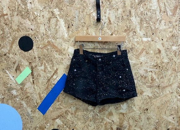Black and White Shorts - Age 5