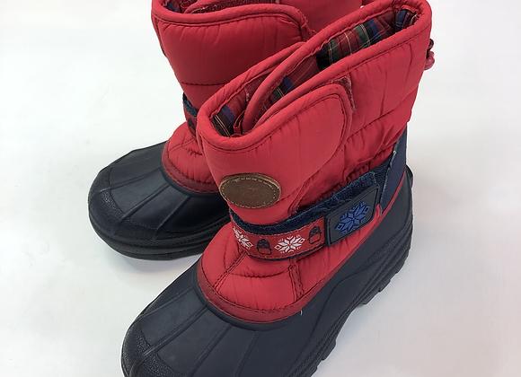 Snow Boots - Red - Shoe size 10 (jr)