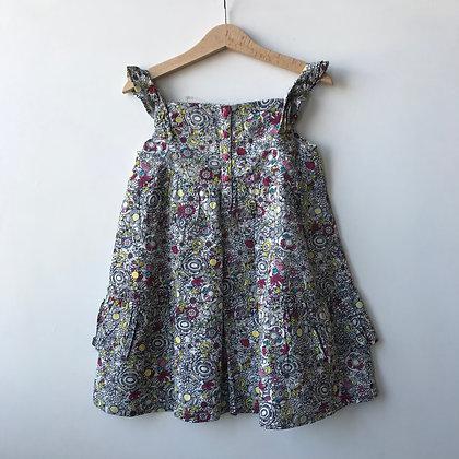 Dress Top - Floral Pattern - Age 4