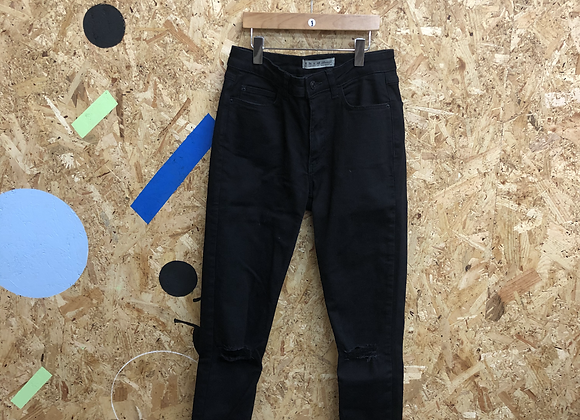 Jeans - Black - 8 (adult)