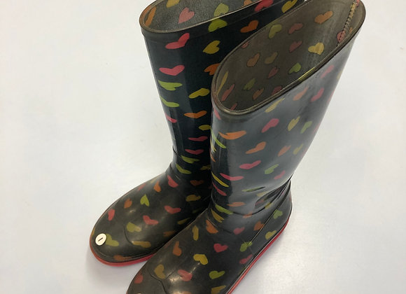 Wellies - Hearts - Shoe size 1