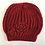 Thumbnail: Hat & Scarf Set - Red Knit
