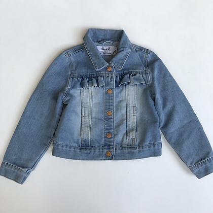 Jacket - Denim With Frill - Age 6