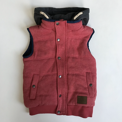 Gilet - Red - Age 9