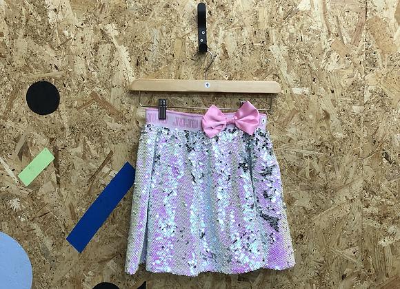 Pink girls age 9 sequin skirt