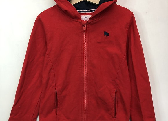 Hoody - Red & Navy - Age 5