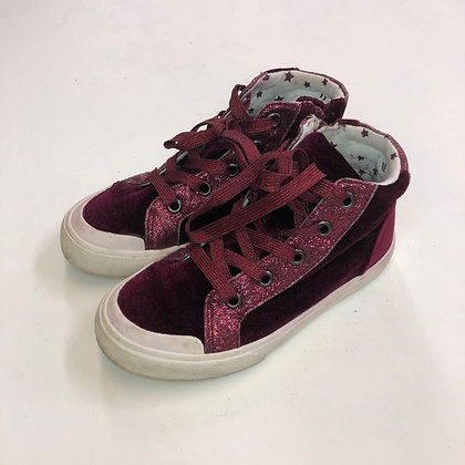 Boots - Burgundy - Shoe size 11 (jr)