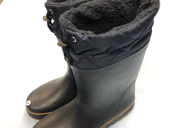 Wellies - Navy lined - Shoe size 3