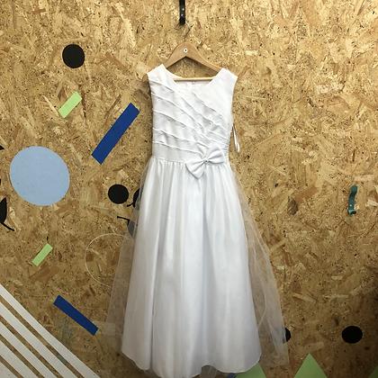 Age 8 Long White Dress