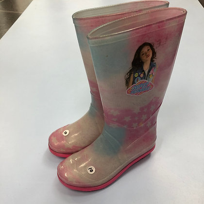Wellies - Pink - Shoe size 10 (jr)