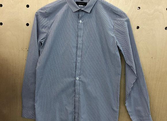 Shirt - Striped Black White - Age 12