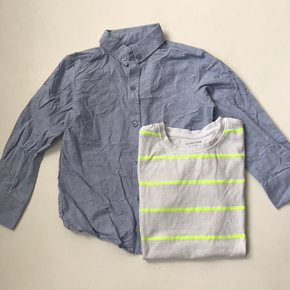 Bundle - Shirt & T-shirt - Age 5