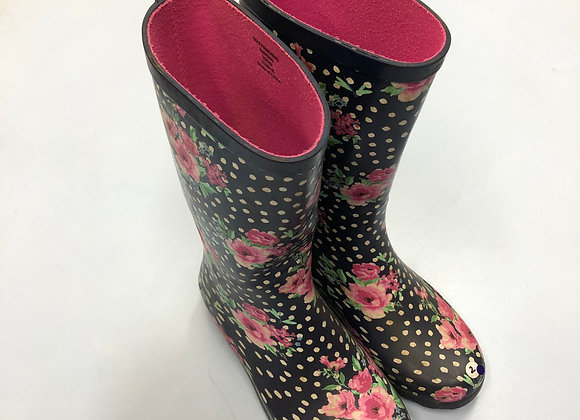 Wellies - Floral - Shoe size 2