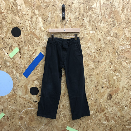 Black Denim Jeans with slight Flare Age 6