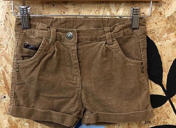 Shorts - Corduroy -  Age 7