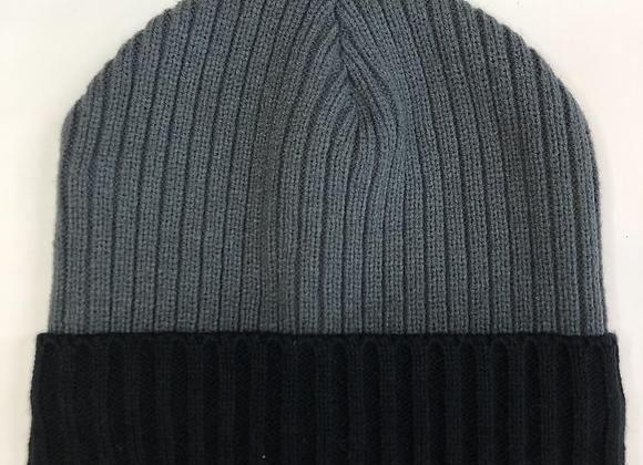 Beanie - Grey Knit