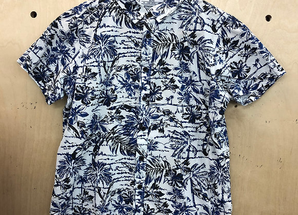 Shirt - Tropical Black and White - Age 12