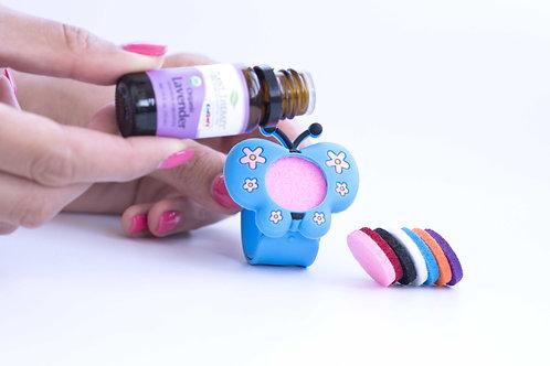 bratara aromaterapie silicon pentru copii cu difuzor pentru uleiuri esentiale