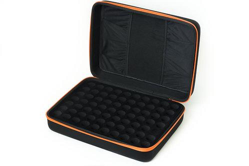 geanta organizatoare depozitare si transport 70 uleiuri esentiale si 20 recipiente roll-on touch