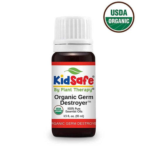 Germ Destroyer Organic – Amestec de uleiuri esentiale organice Anti Germeni