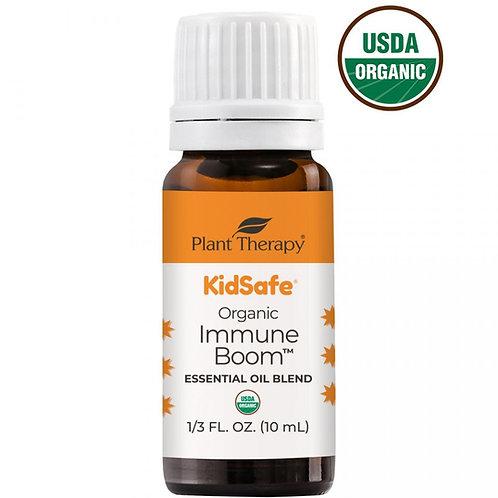 Immune Boom Organic- Amestec de uleiuri esentiale pentru Imunitate copii, 10 ml