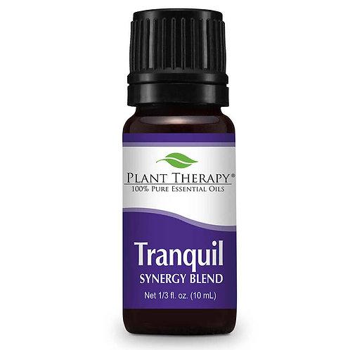 Tranquil – Amestec uleiuri esentiale 100% pure, nediluate, cu efect antistres, Plant Therapy