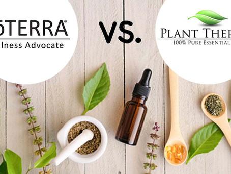 Ce brand de uleiuri esentiale este mai bun? doTerra vs Plant Therapy