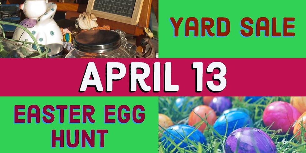 Yard Sale AND Easter Egg Hunt
