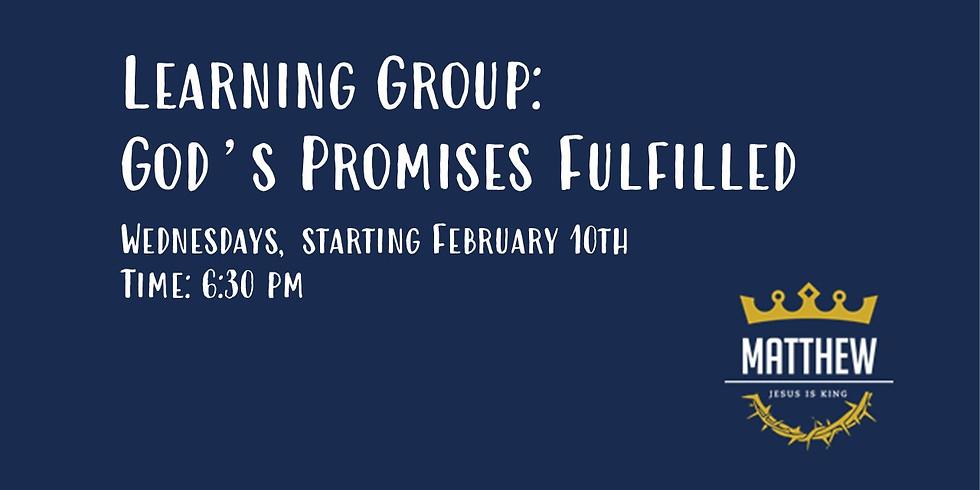 Learning Group | God's Promises Fulfilled