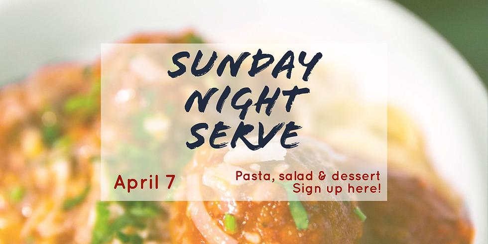 Sunday Night Serve
