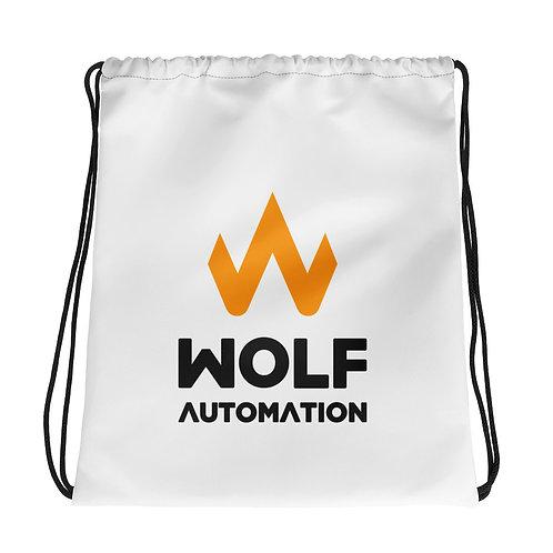 Wolf Automation Drawstring Bag